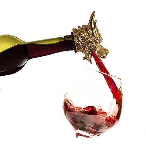 dragon head wine pourer