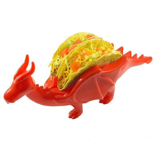 dragon taco holder