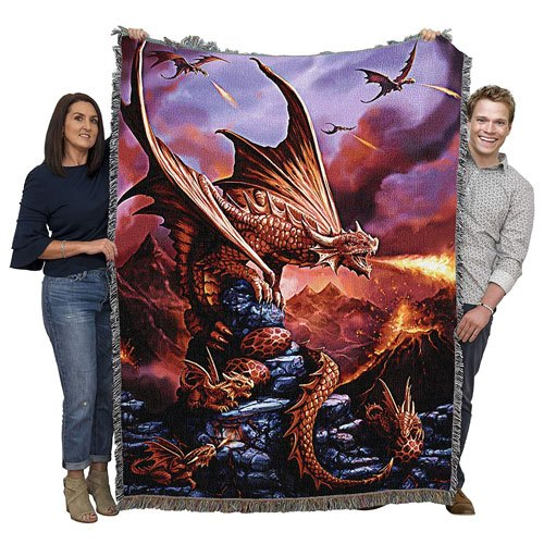 dragon throw blanket