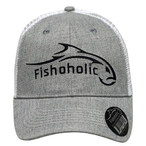fishoholic fishing hat