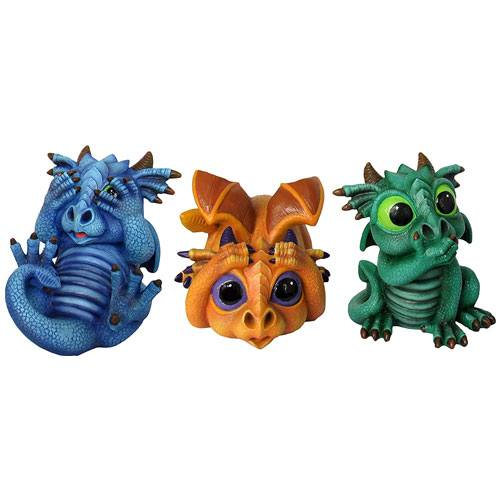 mini dragon figurines