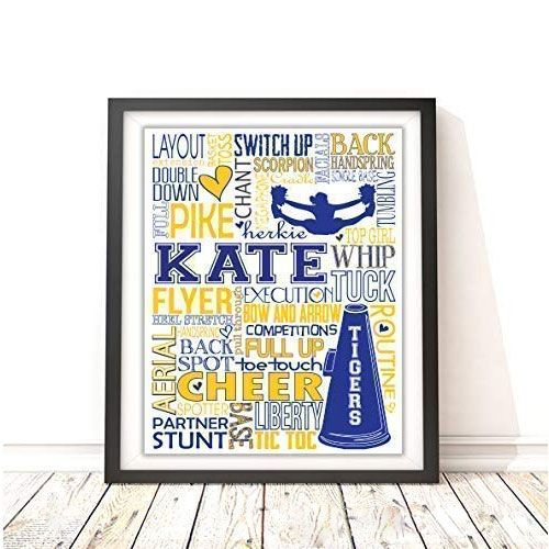 personalized typography print