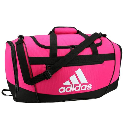 pink duffle bag gift idea