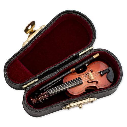 violin miniature replica