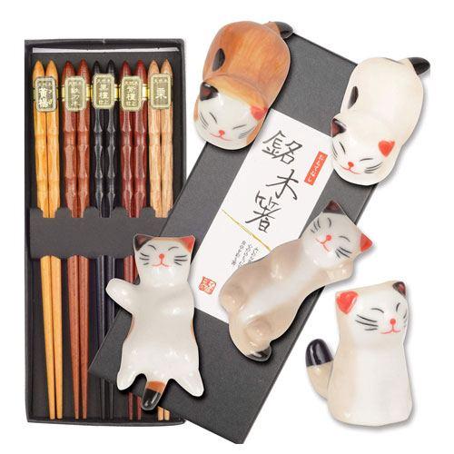 reusable cat chopsticks