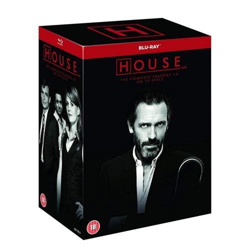 house MD blu-ray collection