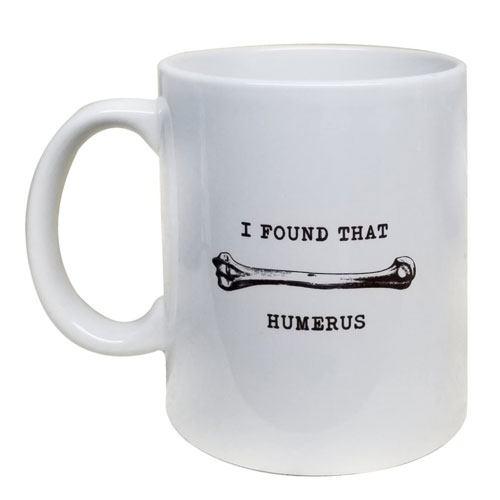 humerus coffee mug