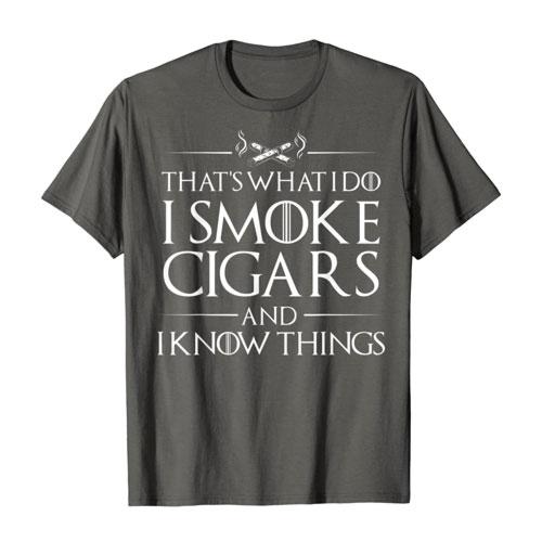 i smoke cigar tees