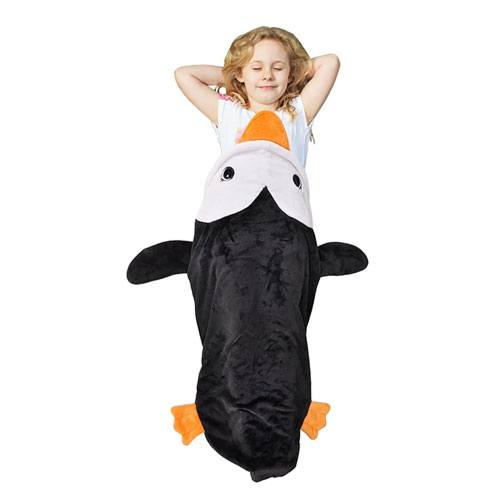 kids penguin blanket