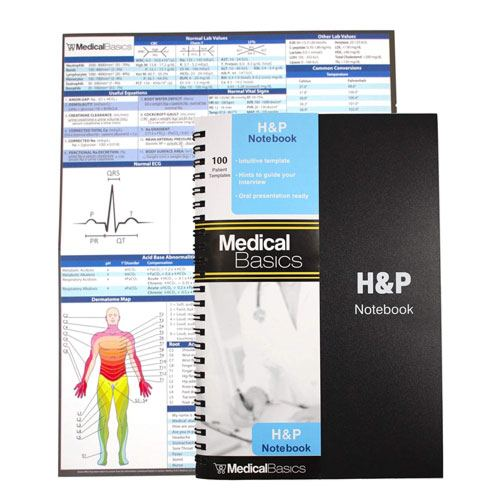 medical history & physical notebook