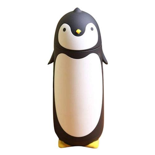 penguin thermos travel mug