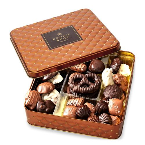 assorted chocolates gift basket