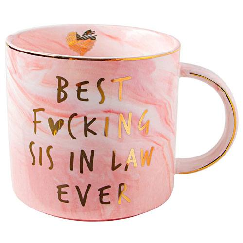 best sister in law mug gift