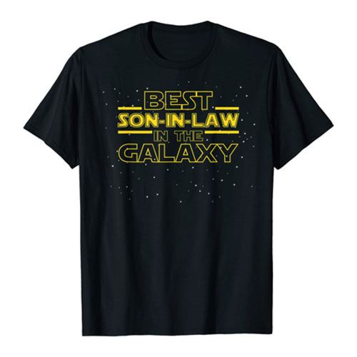 best son-in-law tee shirt