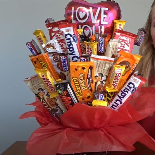 chocolate love bouquet