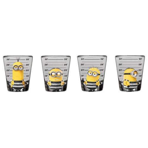 despicable me shot glasses