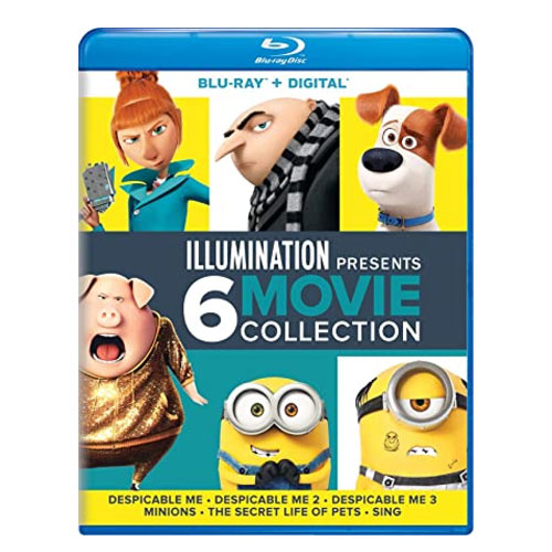 despicable me movie collection