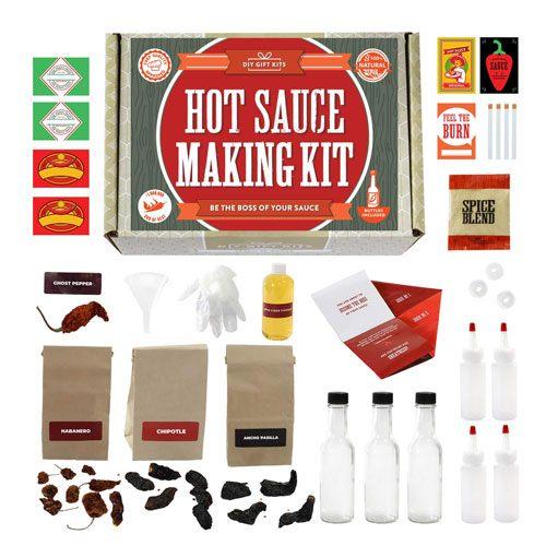 diy hot sauce kit