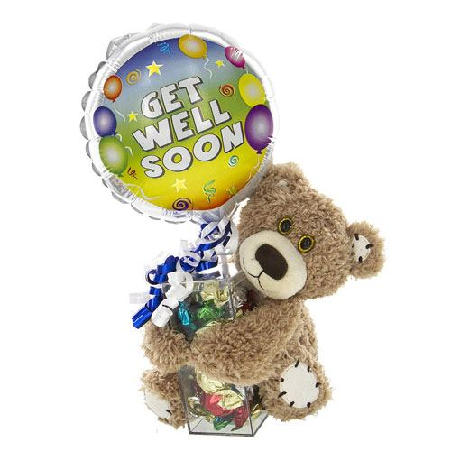 get well balloon teddy
