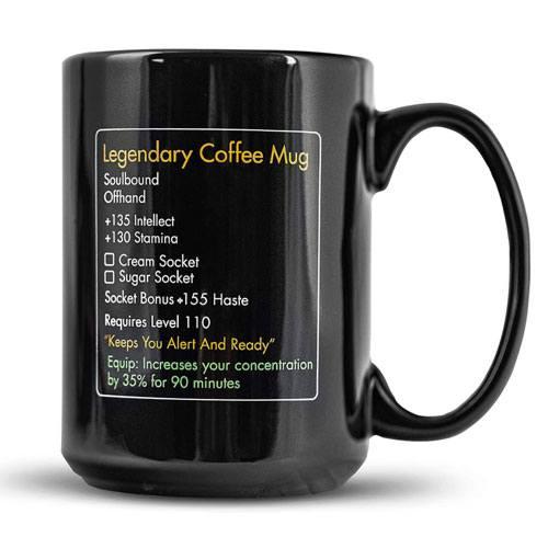 wow legendary coffee mug