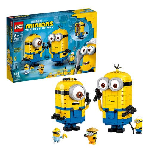 LEGO kevin and bob minions