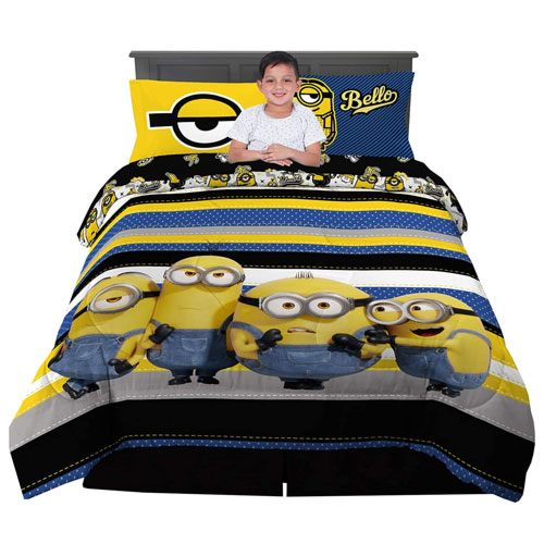 minions bed sheets sets