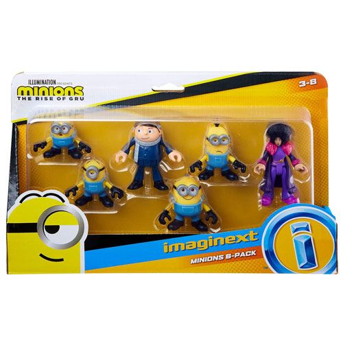 minions figures pack