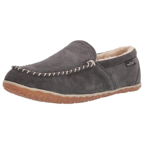 moccasin suede slippers