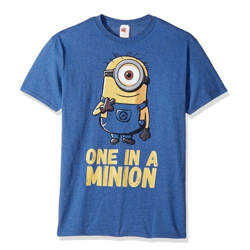 one in a minion tee