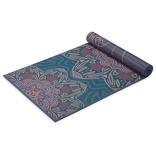 reversible print yoga mat