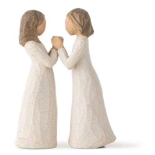 sister by heart sculpture