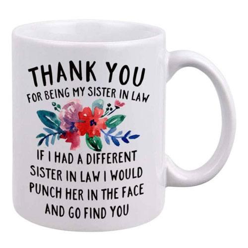 sister in law mug