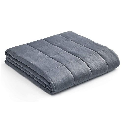 weighted blanket gift idea