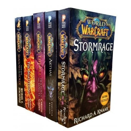 world of warcraft book collection