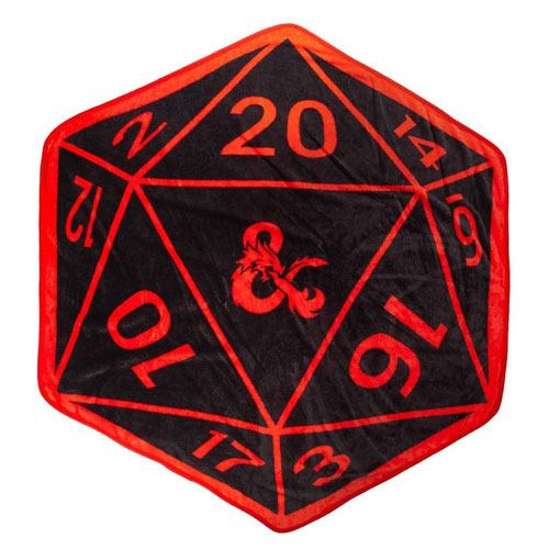 d&d d20 throw blanket