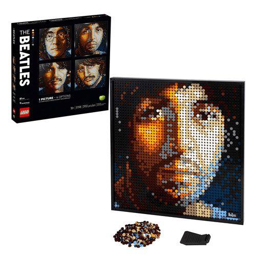 LEGO beatles art kit