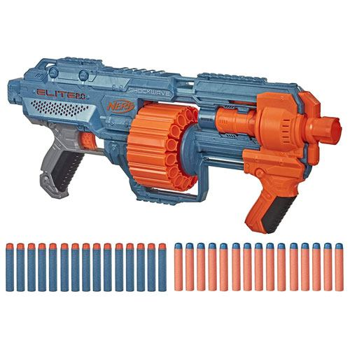 NERF elite shockwave blaster