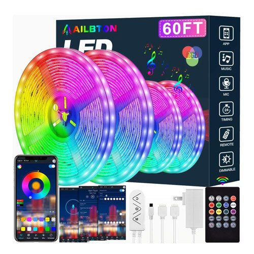 RGB LED light strips
