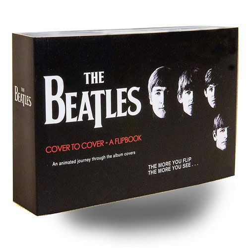 beatles album covers flipbook