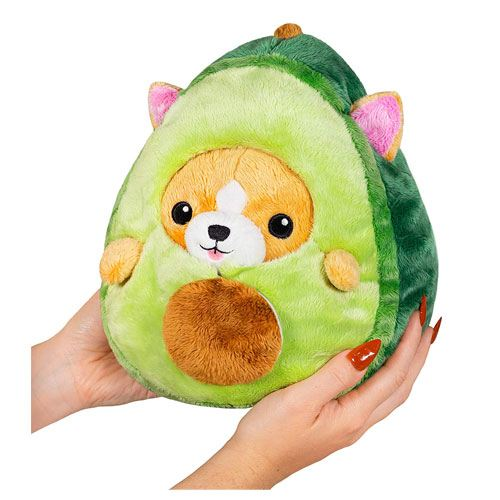 avocado corgi plush toy