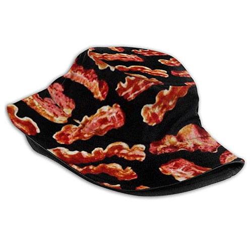 unisex bacon bucket hat