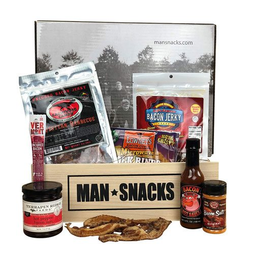 bacon man snacks set