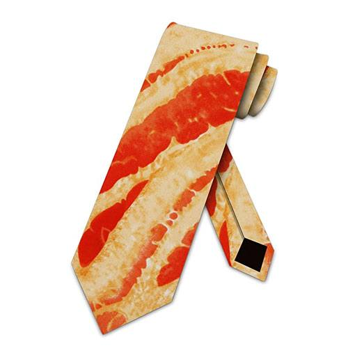 bacon necktie gift