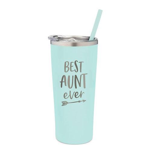 best aunt ever tumbler present