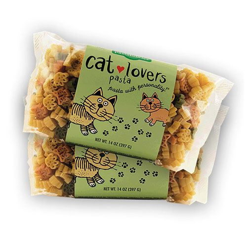 gift for cat lovers pasta