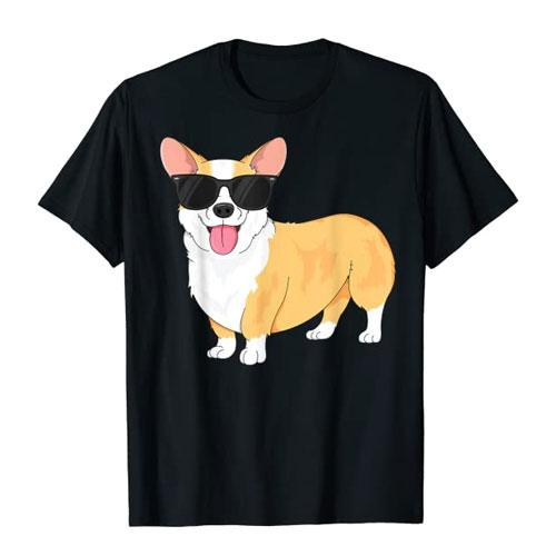 cool corgi t-shirt gift idea