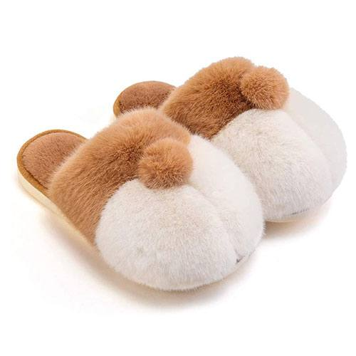 corgi butt slippers