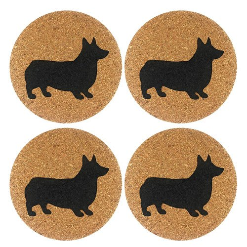 cork coasters set