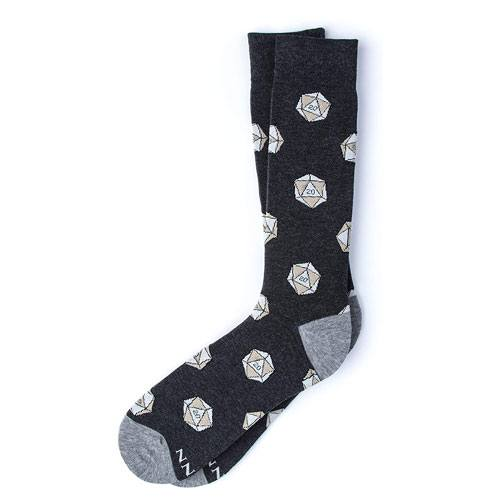 dnd dice socks gift