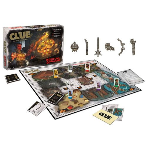 dungeons and dragons clue board game